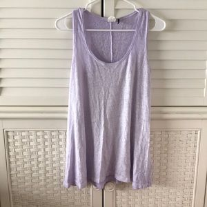 Anthropologie akemi + kin purple tank top small